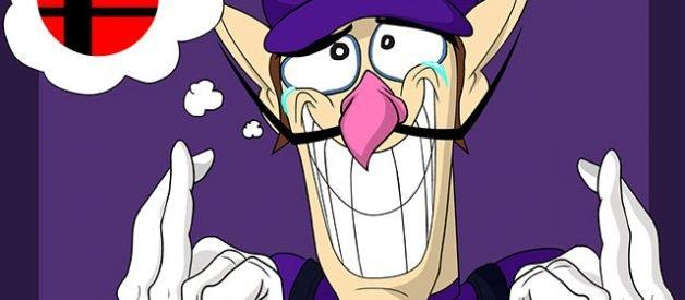 Waluigi Super Smash Bros Ultimate