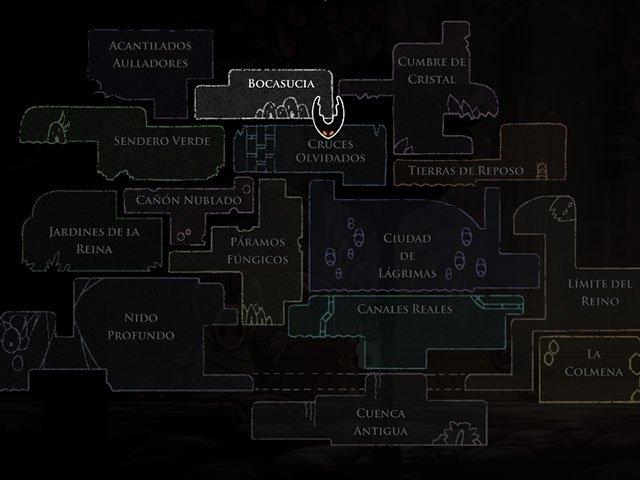 Mapa Completo Hollow Knight.Mapa Completo De Hollow Knight Y Guia De Zonas Korosenai