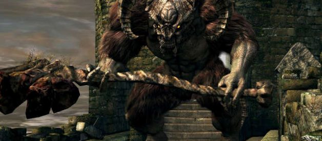 Demonio de Tauro en Dark Souls