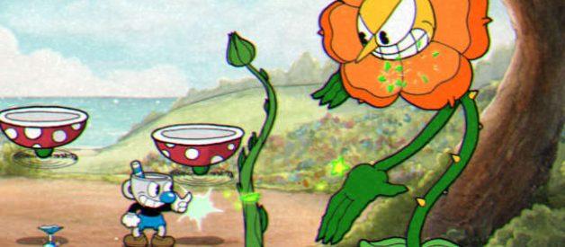 Flor Ypondio en Cuphead