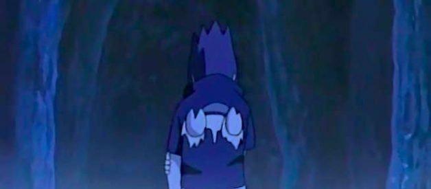 Sasuke Abandona la Villa de la Hoja en Naruto