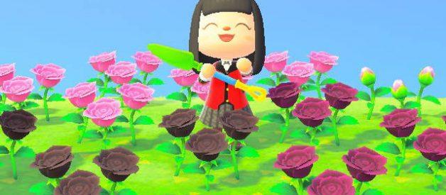 Flores en Animal Crossing New Horizons