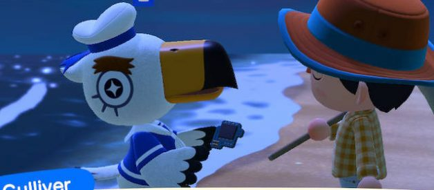 Gulliver en Animal Crossing New Horizons