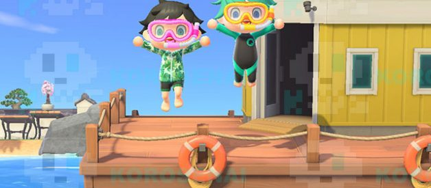 Pesca Submarina en Animal Crossing New Horizons